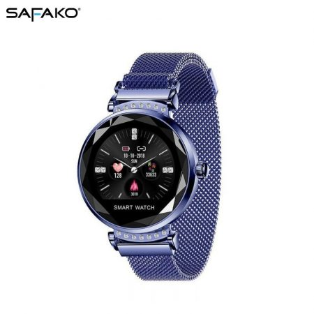 Safako SB7010 Montre intelligente bleu