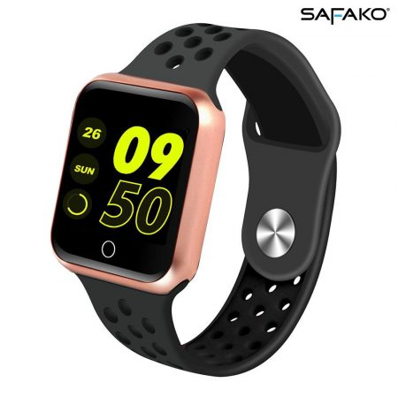 Safako SWP10 Smartwatch (rose gold-black)